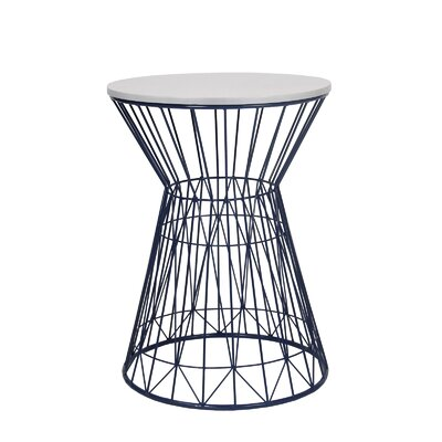 Privilege Round End Table Wayfair