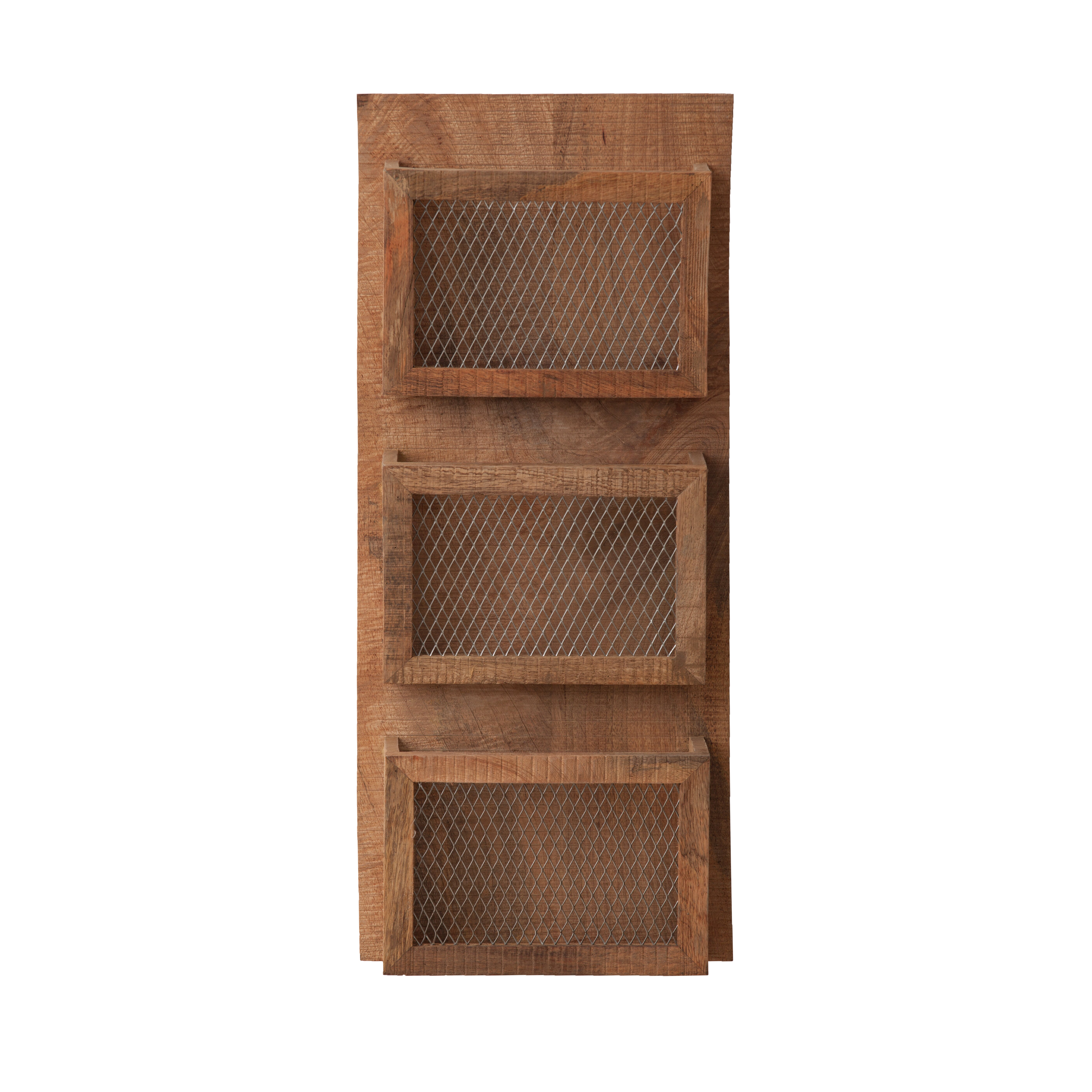 Attractive Wooden Letter Rack Box  With Jali In Front Upt  Jpg