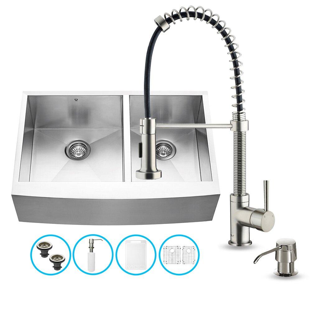 Kitchen Sinks Vigo Part Vg Sku Vgu