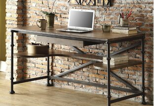 Rustic-Chic Office Space