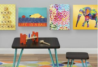 Bright Ideas Kid-Approved Wall Art