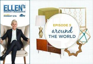 Ellen's Design Challenge: Around the World