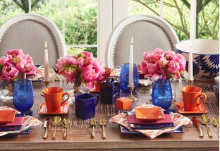 Set a Bright Summer Table