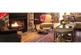 Cozy By The Fire: Furniture, Fireplaces & More