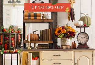 Decor Up to 40% Off