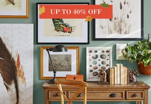 Wall Art Up to 40% Off