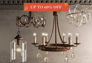 Lighting Up to 60% Off