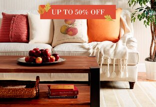 Cozy Touches Up to 50% Off