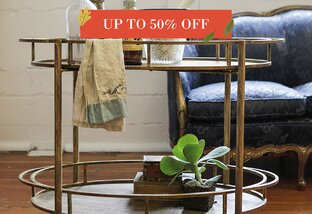 Bar Carts Up to 50% Off