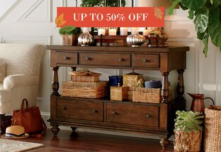 Tables & Chests Up to 50% Off