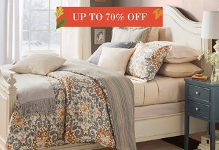 Bedding Up to 70% Off
