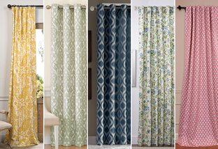 Right on Hue: Curtains