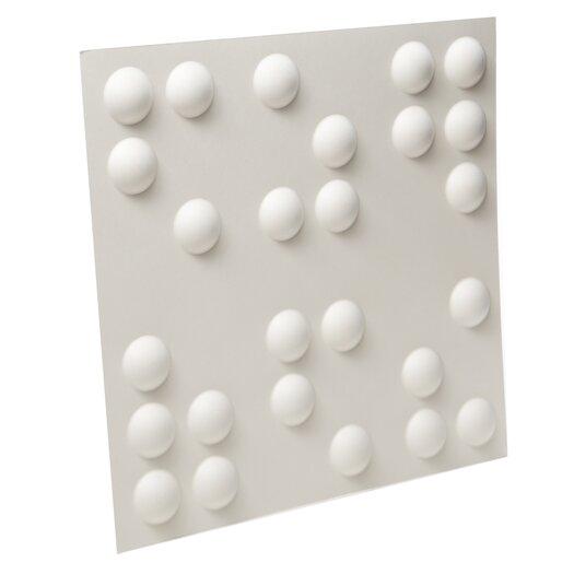 Embossed Tile Wallpaper Dot Embossed 10 Piece Tile