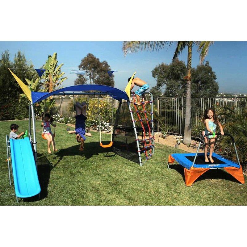 IronKids Premier 550 Fitness Swing Set & Reviews | Wayfair