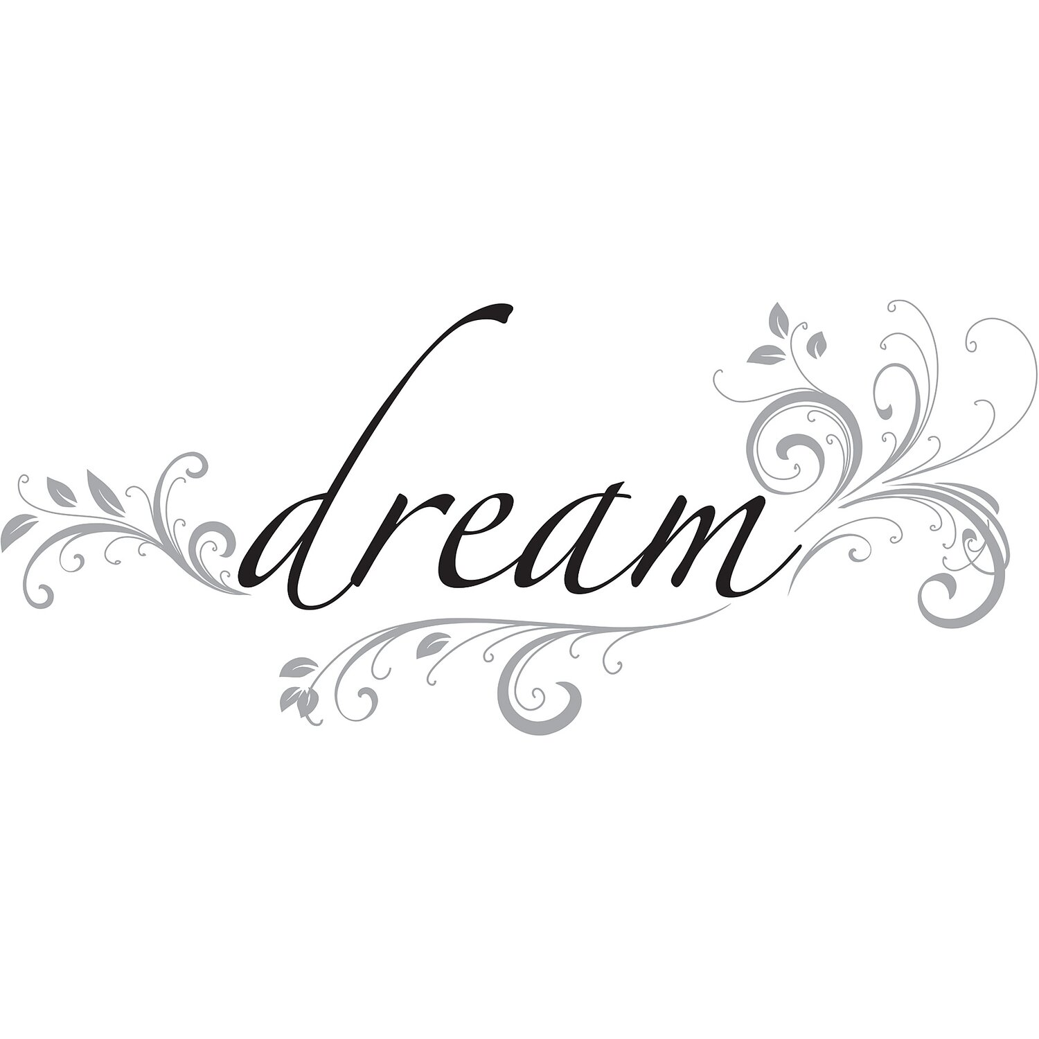 Wall Decals Dream Quotes Dream Wall Decal