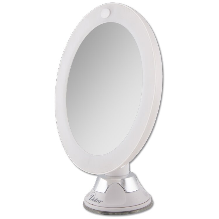 Zadro LED Lighted Z'Swivel Power Suction Cup Mirror & Reviews ...