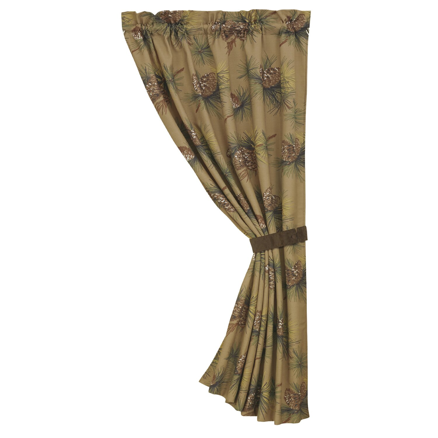 ... buy Pine Cone Curtains: Crestwood Pinecone Curtain Panel from Wayfair
