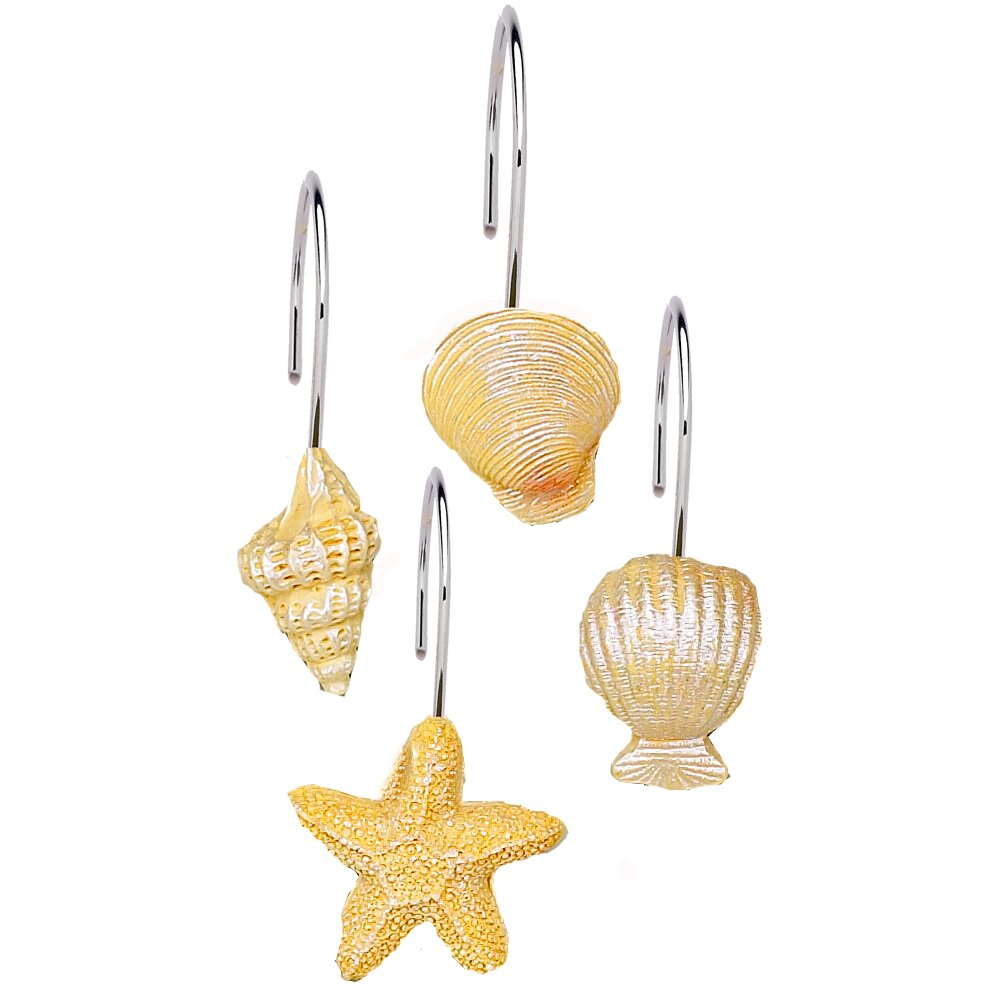 Carnation Home Fashions Shower Curtain Hooks Carnation Home Fashions South