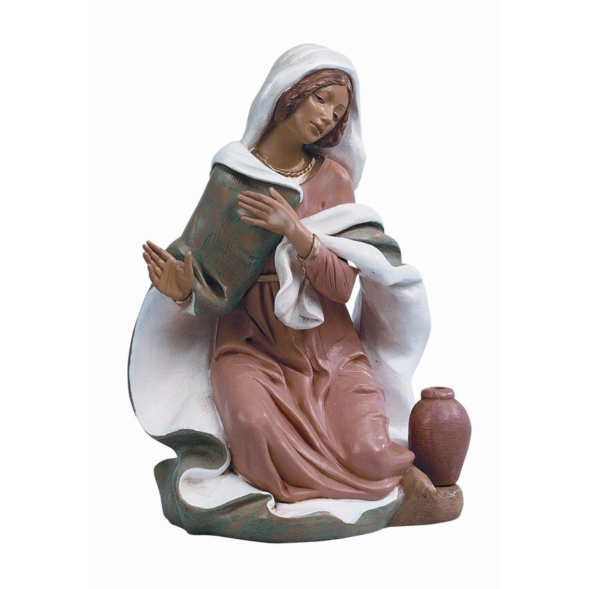 "18"" Scale Mary Figurine | Wayfair"