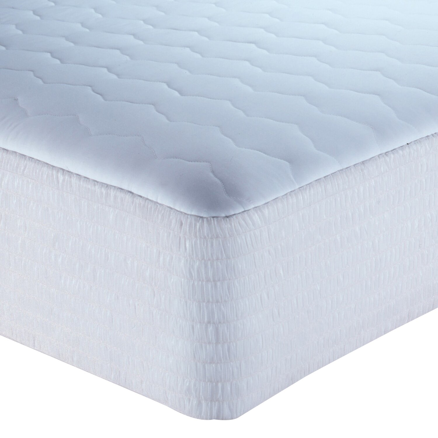 King size mattress pad king size waterbed mattress pad for Comfort inn mattress brand