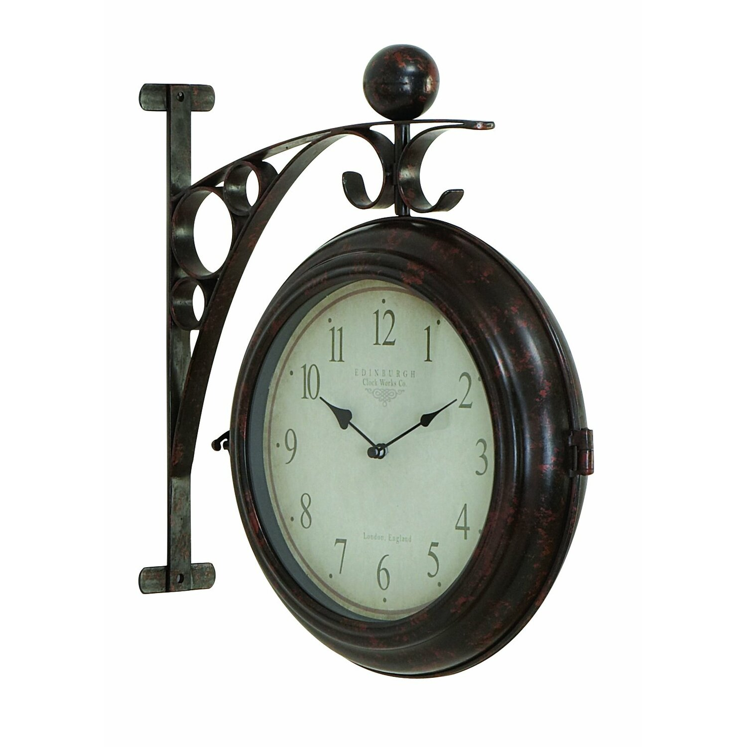 Train Station Clocks For Sale Dual Sided Train Station Clock