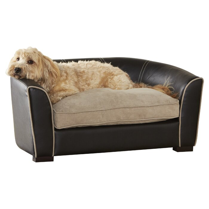 Leather Dog Bed Cover