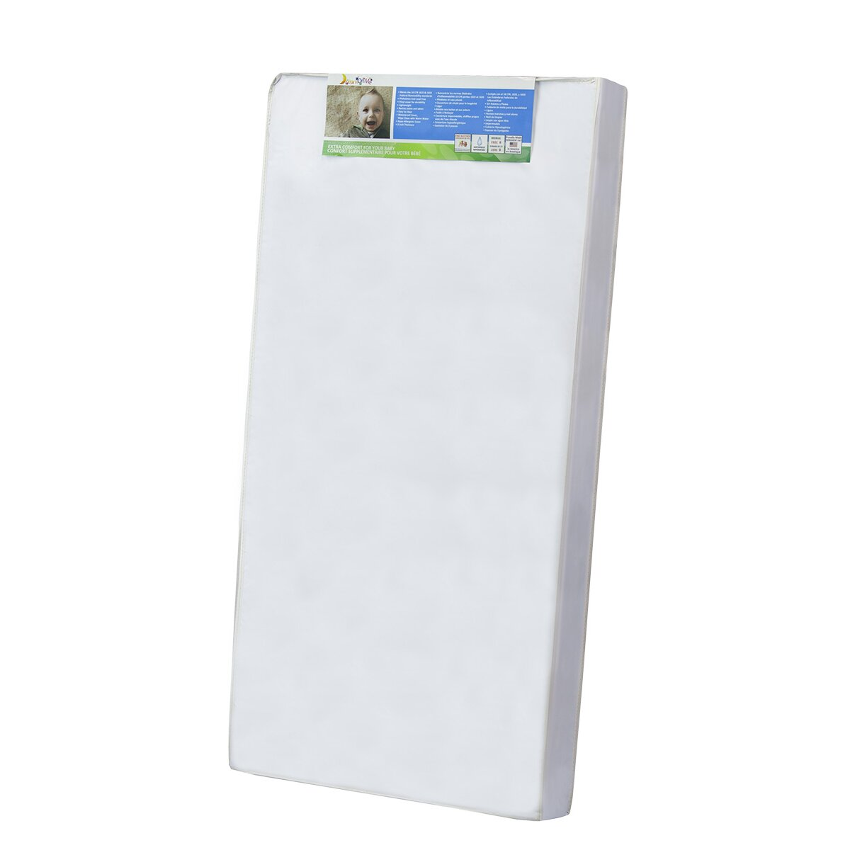 For Sale 2 Inch ErgoSoft Natural Latex Foam Mattress Pad Topper, Full