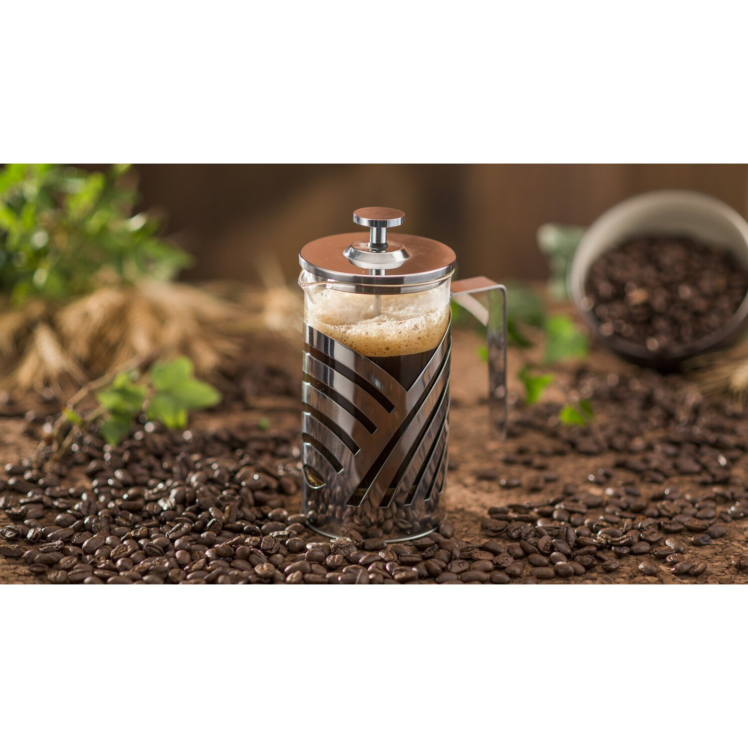 Grosche Madrid French Press Coffee And Tea Maker Ovente Oz Stainless Steel French Press Coffee Maker