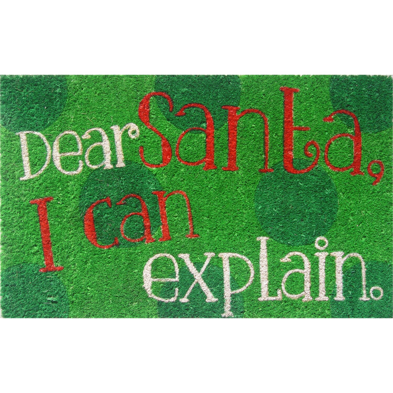 Dear Santa Doormat
