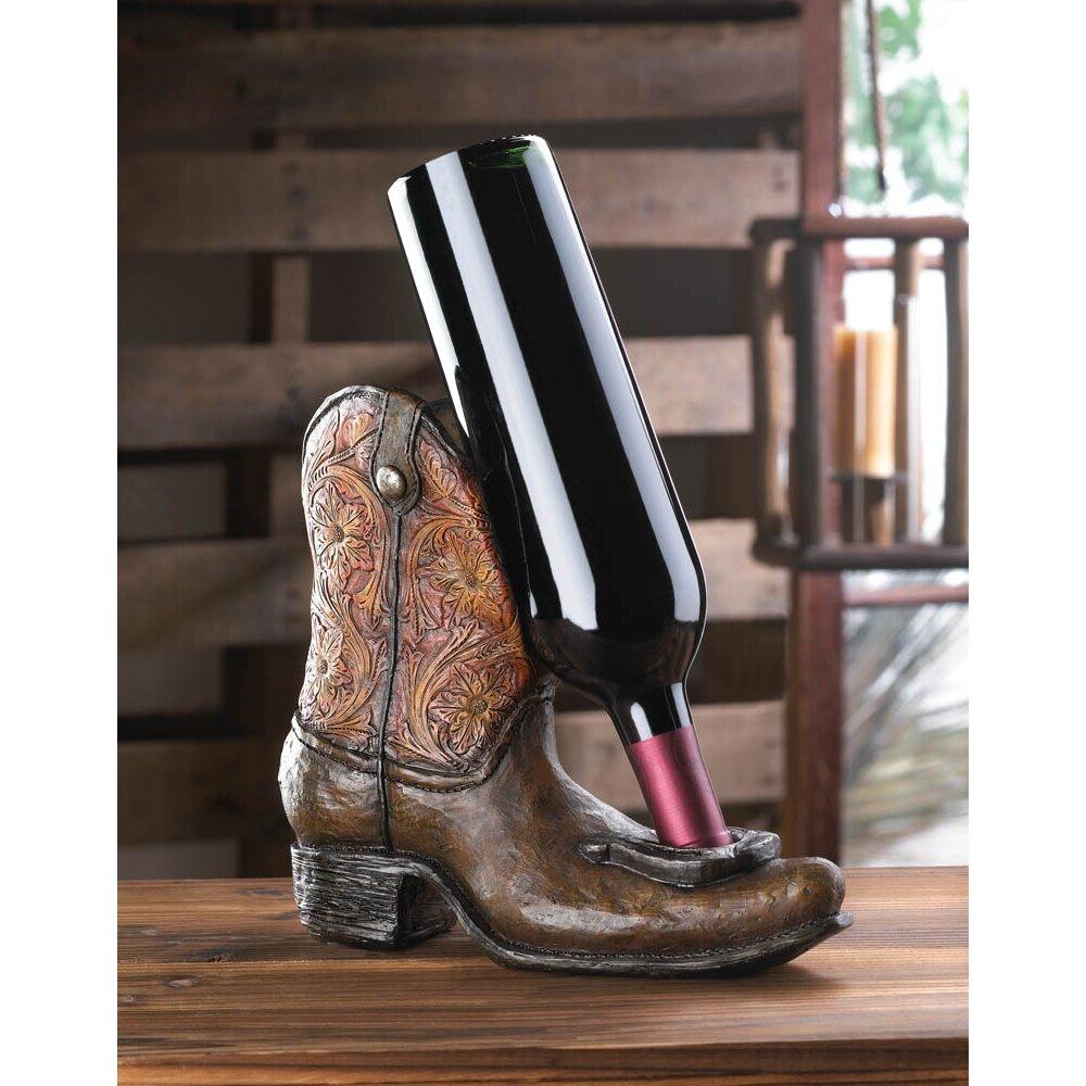 Cowboy Boot Wine Bottle Holder Boot Wine Bottle Holder