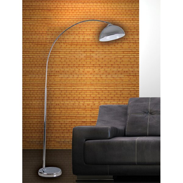 arc floor lamp brown images