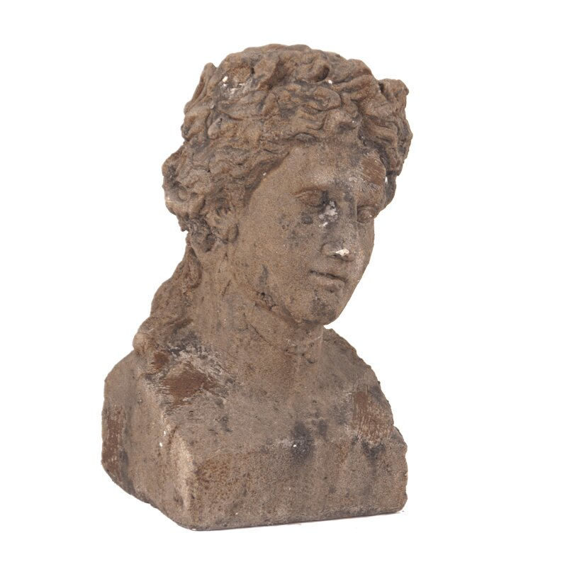 Ancient Roman Old World Male Ceramic Bust | Wayfair