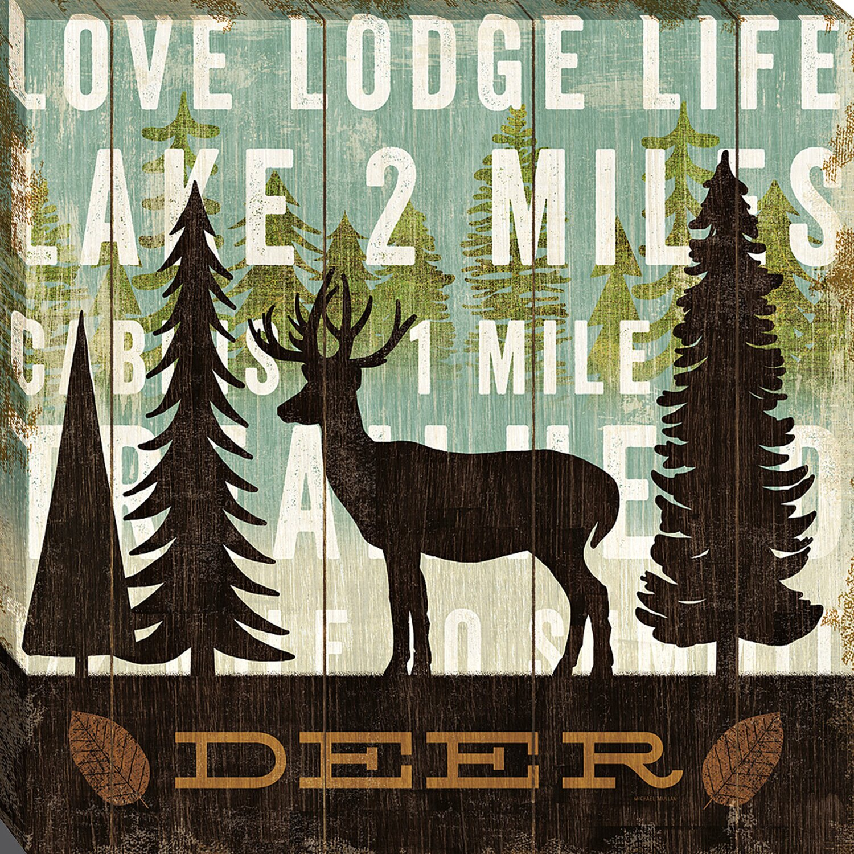 Simple Living Deer By