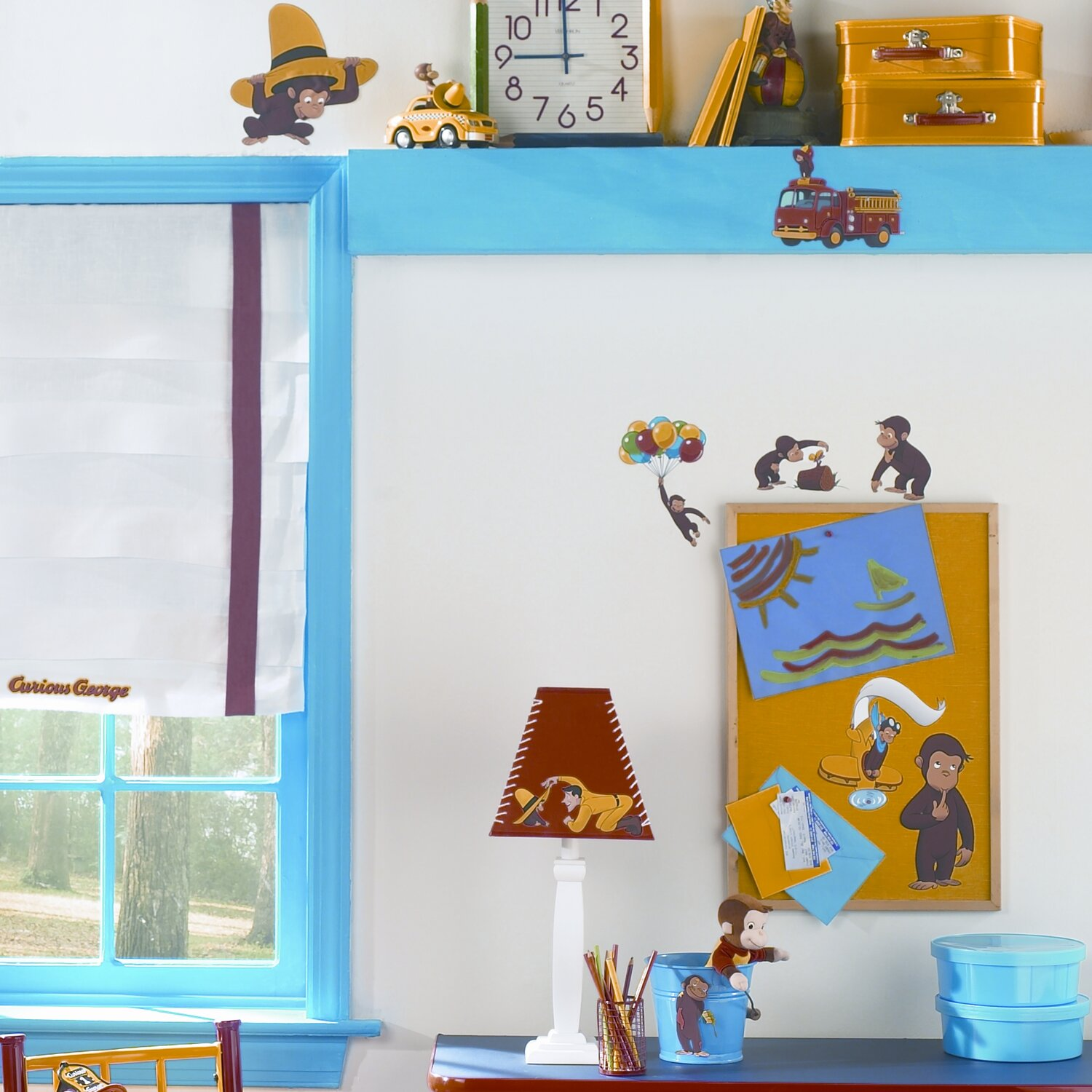 Curious George Wall Sticker Curious George Wall Decal. Curious George Wall  Decal. Source Abuse Report Part 92