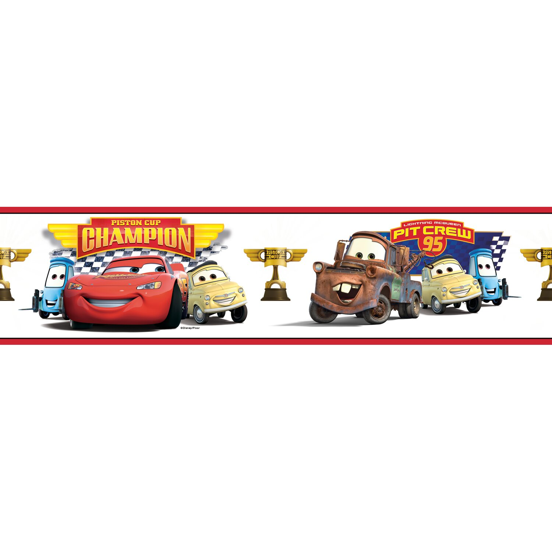 Disney Cars Wallpaper Border