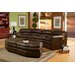 Omnia Furniture Canyon Custom Leather Sectional