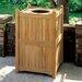 Oxford Garden 20-Gal Trash Receptacle