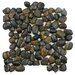 EliteTile Brook Random Sized Natural Stone Mosaic Tile in Tiger Eye