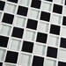 """EliteTile Sierra 0.875"""" x 0.875"""" Glass and Natural Stone Mosaic Tile in Prague"""