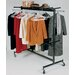 """National Public Seating 70"""" 2 Tier Hanging Chair/Coat Truck"""