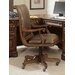 Hooker Furniture High-Back Swivel Leather Executive Chair with Arms
