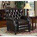 At Home Designs Manhattan Leather Recliner