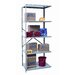 Hallowell Hi-Tech Shelving Duty Open Type 5 Shelf Shelving Unit Add-on