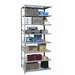 Hallowell Hi-Tech Duty Open Type 8 Shelf Shelving Unit Add-on