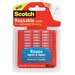 3M Scotch Restickable Mounting Tabs, 6/Pack