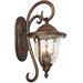 Kalco Santa Barbara 3 Light Wall Lantern