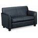 Basyx by HON Leather Loveseat