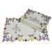 Xia Home Fashions Fancy Flowers Placemat