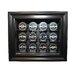 Caseworks International NHL Twelve Puck Cabinet Style Display Case in Black