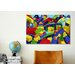 iCanvas Kids Children Colorful Toys Canvas Wall Art